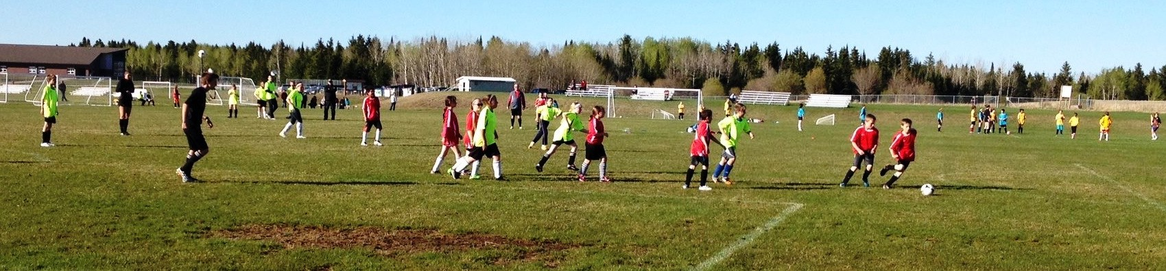 Picture of youth soccer at Rotary Park
