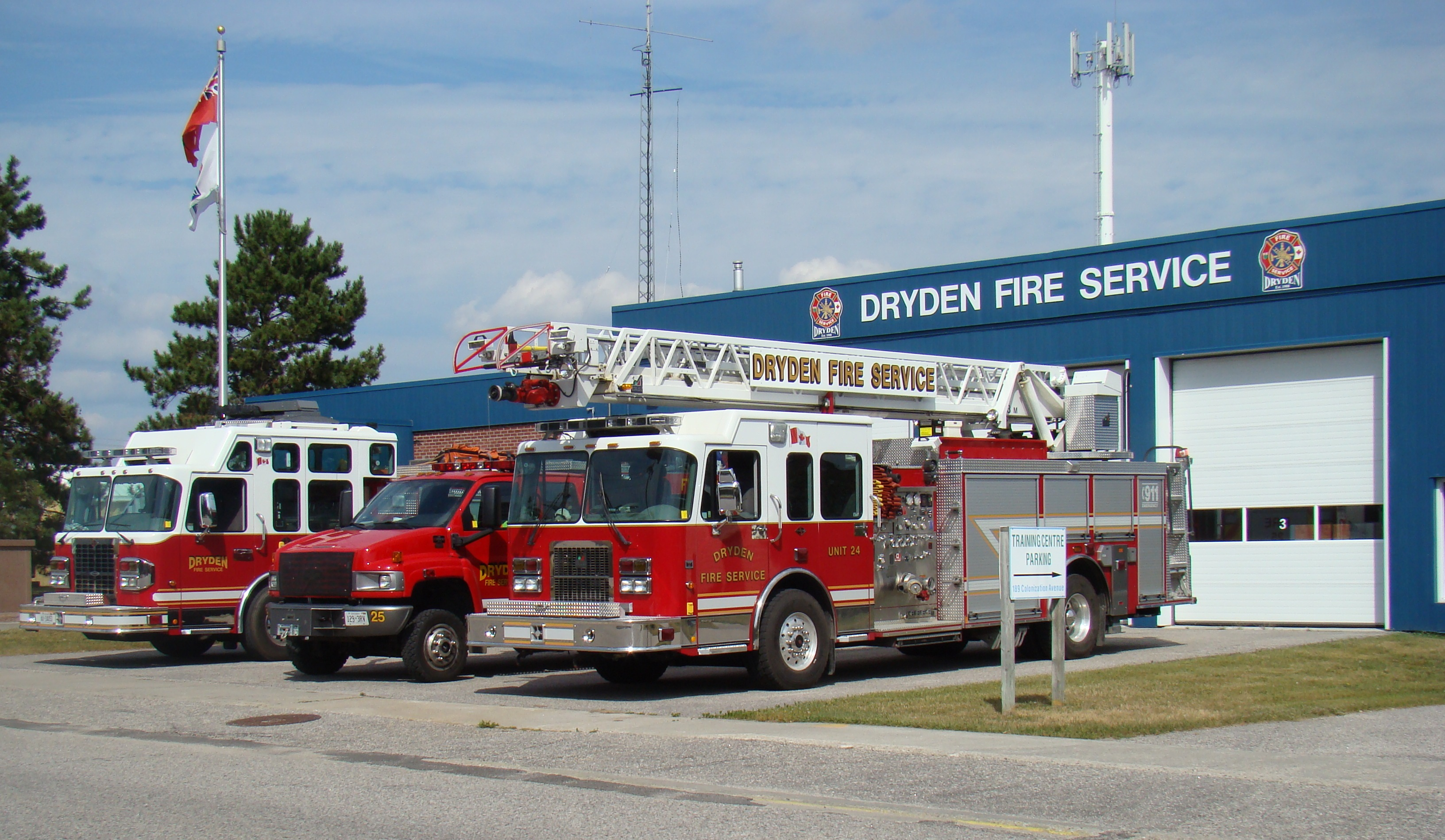 Fire Halls and Apparatus - City of Dryden