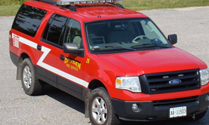 fire department SUV